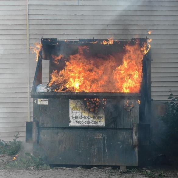 dumpsterfire