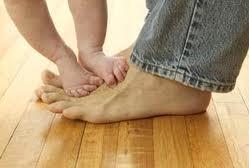 toe stepping
